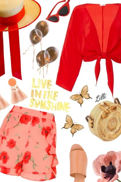 Live In The Sunshine- Fashion set