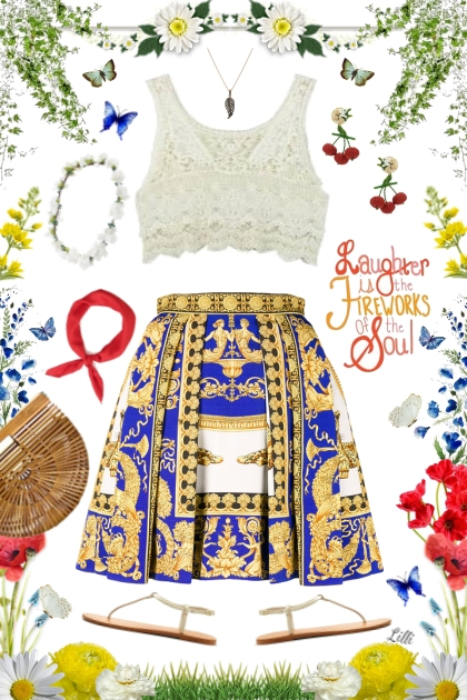 Laughter is the Fireworks of the Soul- Fashion set