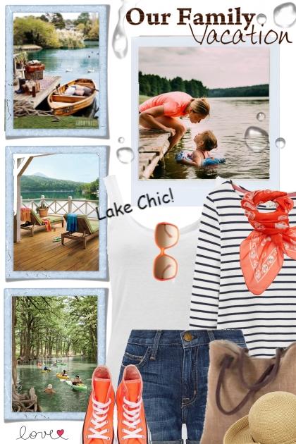 Family Vacation at the Lake!