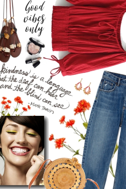 Good Vibes Only!- Fashion set