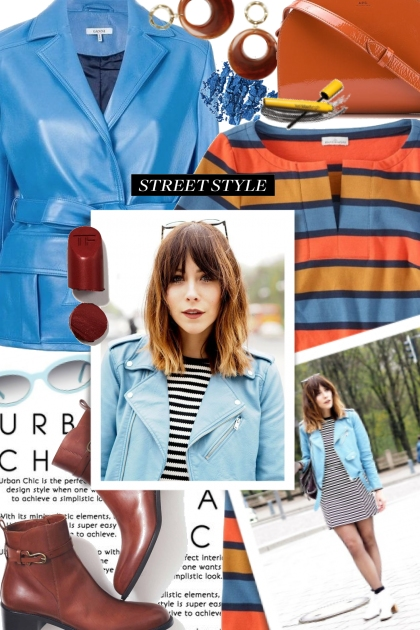 Urban Chic Striped Dress