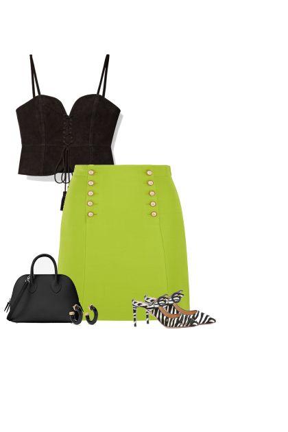 Black, Green, & Zebra