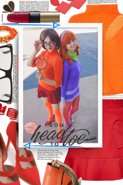 Velma and daphne- Fashion set