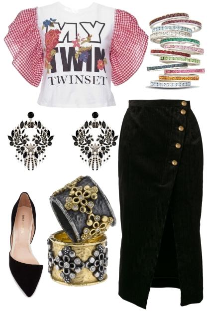 Too many things to choose- combinação de moda