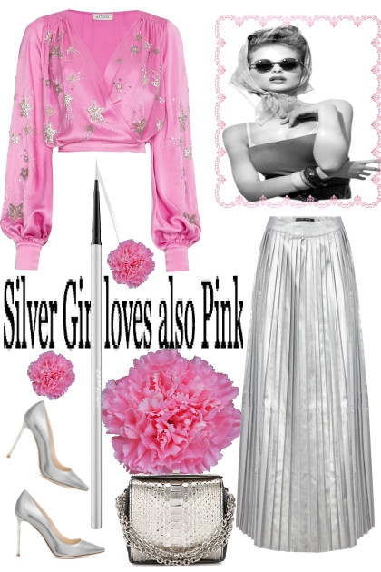 Silver Girl loves also Pink
