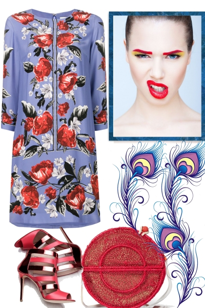 Spring Time with Red Accessoires
