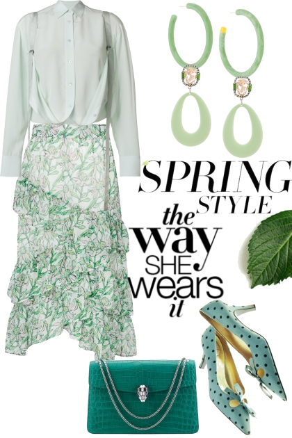 Spring Style, the way she wears it