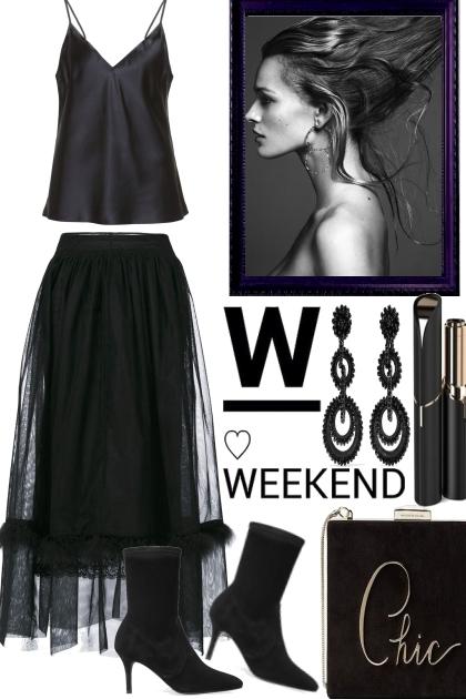 The Weekend in Black
