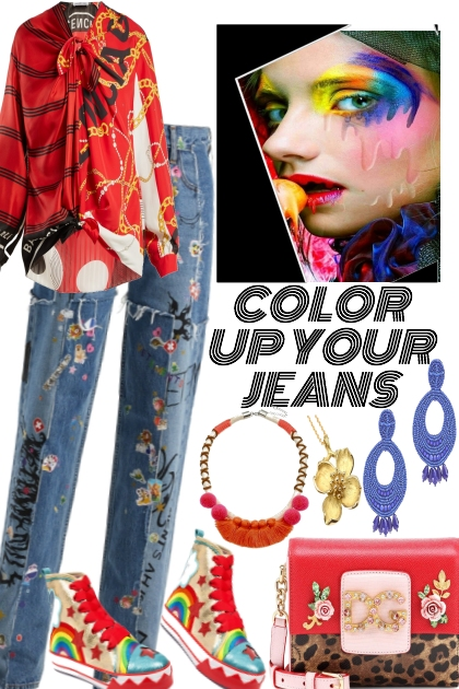 COLOR UP YOUR JEANS