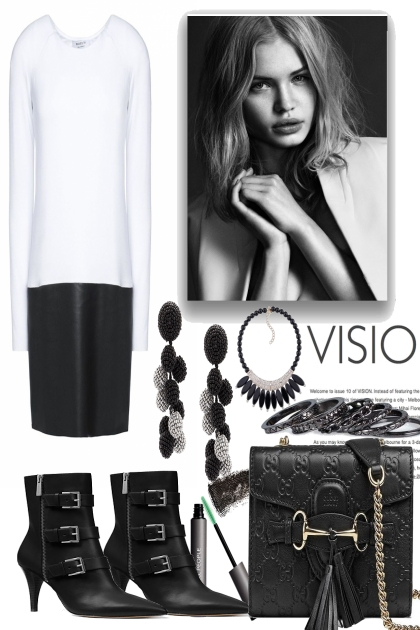 Black & White... - Fashion set