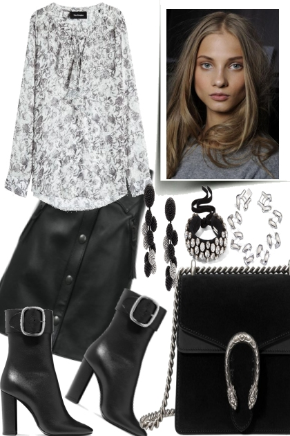 LEATHER SKIRT FOR FALL