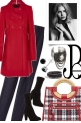 Red coat for fall