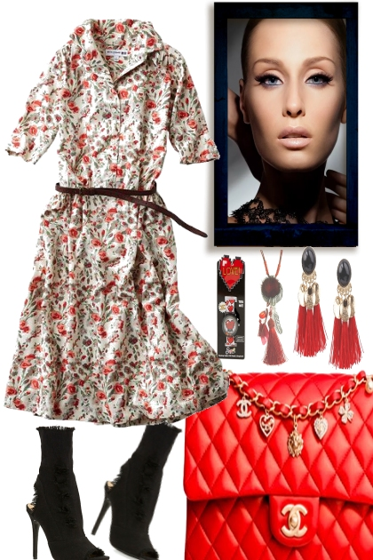 FROM SUMMER TO FALL WITH A RED POWER BAG