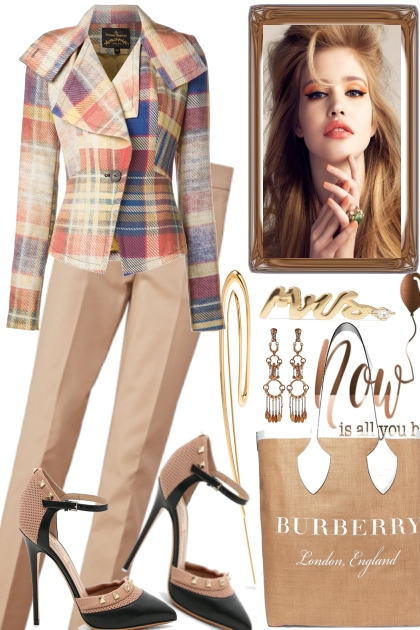 FROM SUMMER TO FALL, A BLAZER