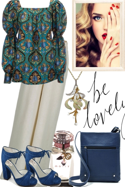 LOVELY WITH AQUA