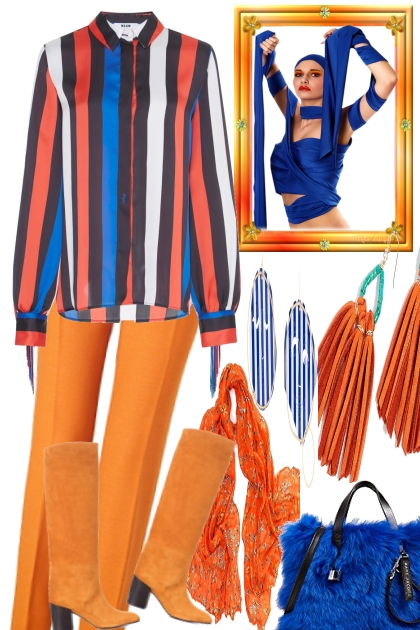 GET THE BLUES WITH ORANGE