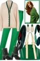 .WINTER WHITE & GREEN