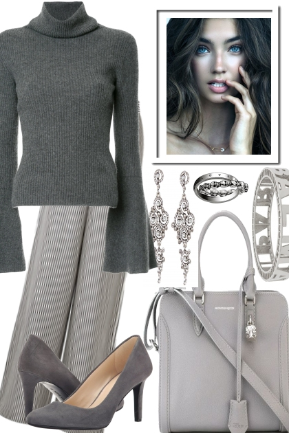 CHIC WITH A WARM SWEATER