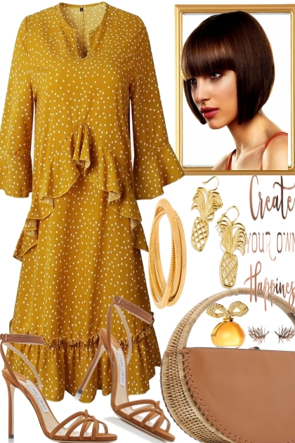 CREATE YOUR OWN HAPPINESS.- Fashion set