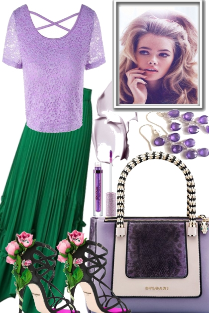 Lavender Greens