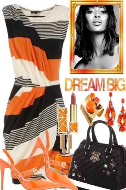 Offwhite, Black and Orange