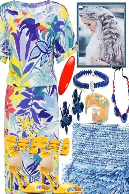 SUMMER AND VACATION- Fashion set