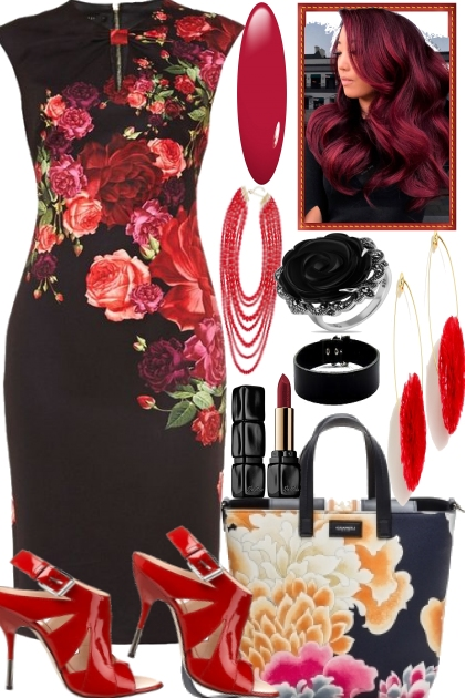 Roses and Black