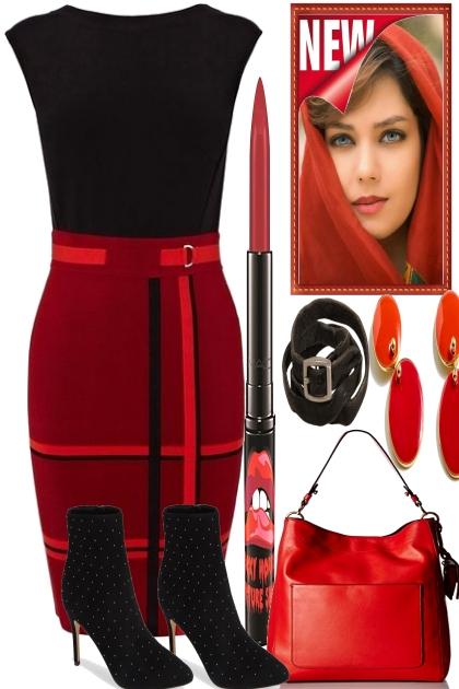 BIT BLACK, BIT RED- Fashion set