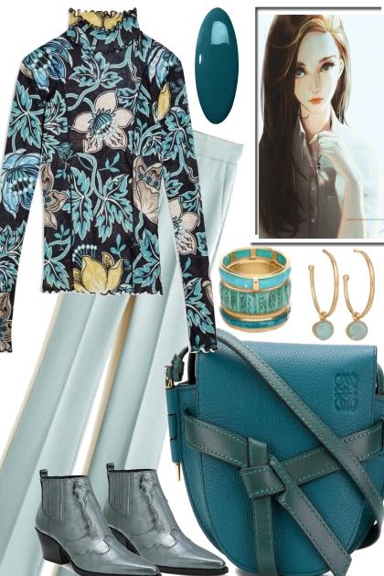 AQUA IS GREAT FOR ALL SEOSONS- Fashion set