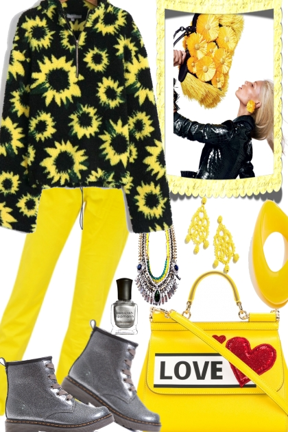 SUNFLOWERS FOR FALL