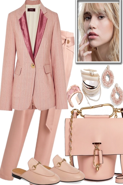 GO IN PASTEL- Fashion set