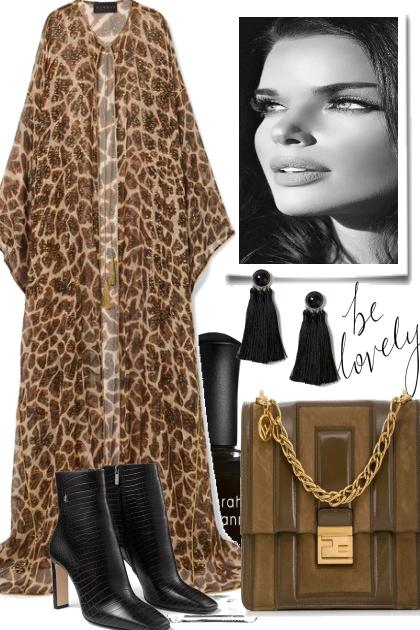 LEO AND BLACK- Fashion set