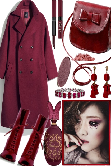 WONDERFUL DARK RED