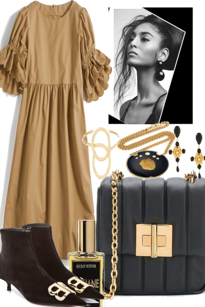 SO PRETTY WITH BEIGE AND BLACK