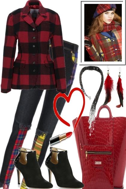 A HEART FOR LONDON- Fashion set