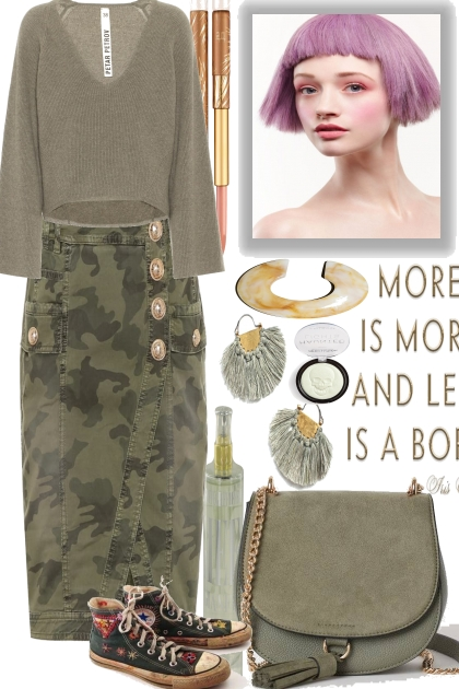 Olive for a casual Monday
