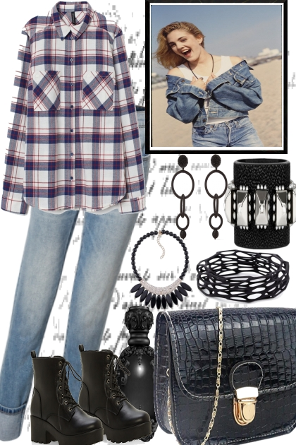 AN EASY JEANS STYLE