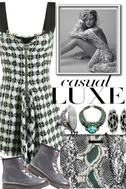 CASUAL LUXE.. .