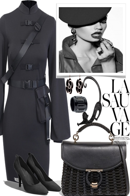 Black Elegance for work- Fashion set