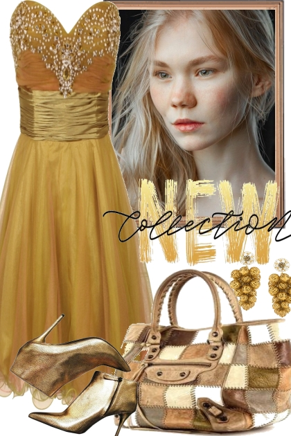 GOLD FOR THE COCKTAIL PARTY- Fashion set