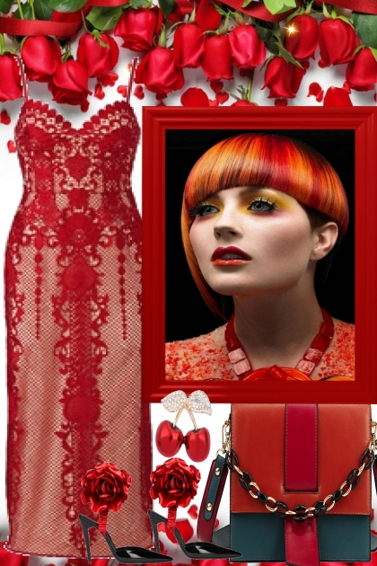 RED FOR A ELGEGANT SUMMER PARTY- Fashion set