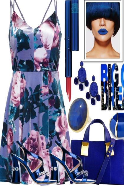 THE BLUES ON THE WEEKEND- Modna kombinacija