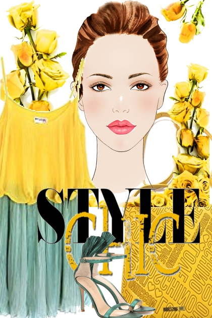 style chic with 2 colors