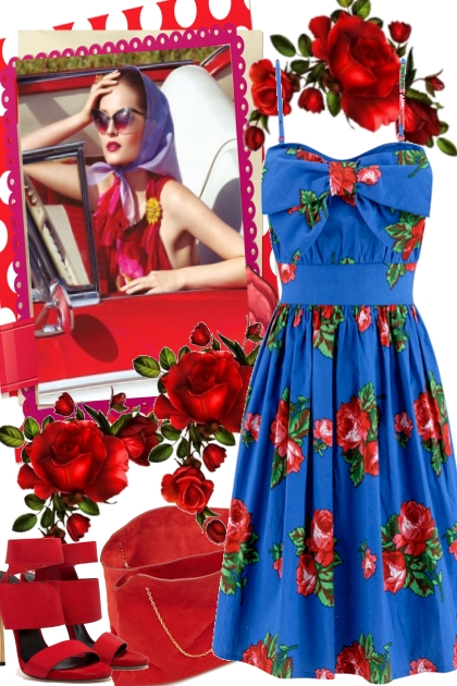 RED ROSES AND THE BLUES