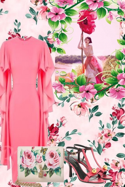 FLOWER POWER WITH PINK