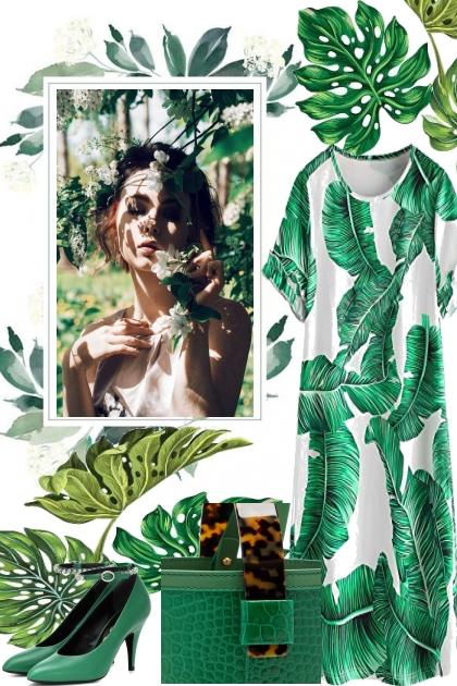GREEN LIKE THE LEAVES