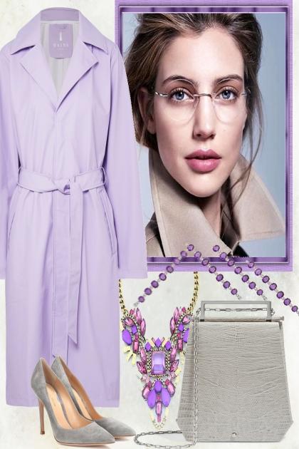 GREY LAVENDER,- Fashion set