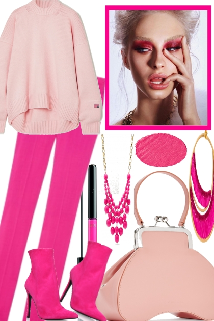 SOFT AND HOT PINK TOGETER