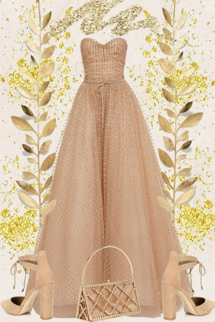 A DREAM DRESS.  .