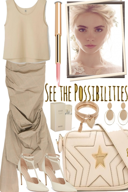 EASY. STYLE, BEIGE IS ALWAYS CHIC- コーディネート